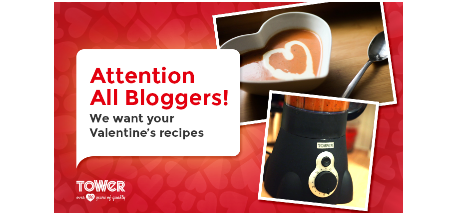 Attention All Bloggers! We Want Your Valentine's Day Recipes…
