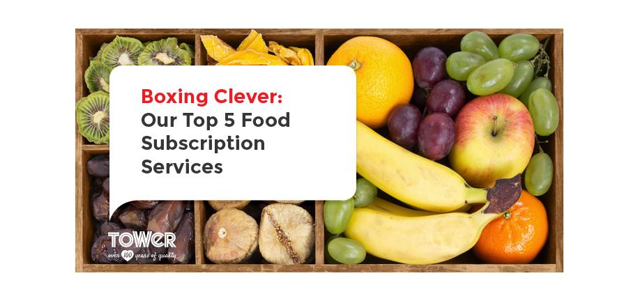 Boxing Clever: Our Top 5 Food Subscription Services