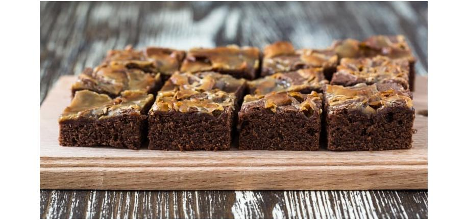 Fantastic Father's Day Feast: Salted Caramel Brownies Dessert