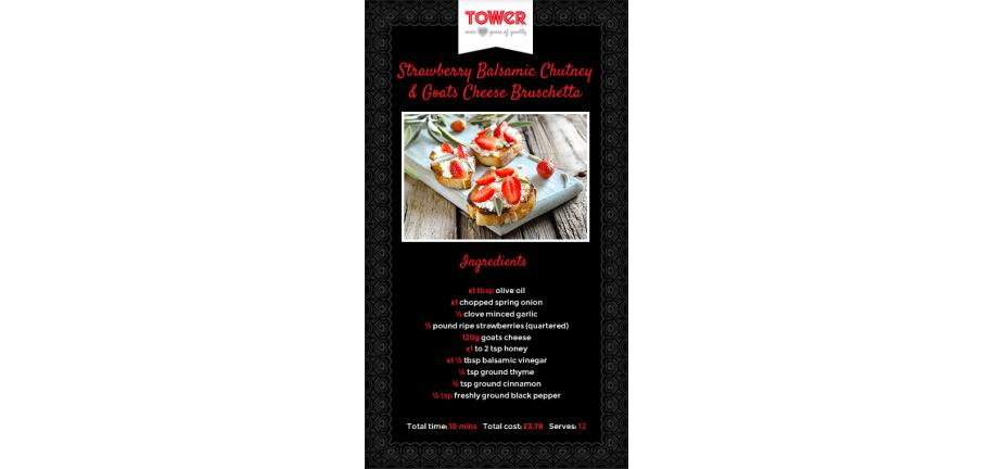 The Food of Love: Tower's Delicious Valentine's Meal