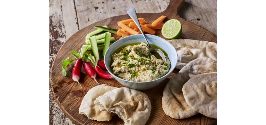 Tower Alexa: Zesty Lime and Coriander Hummus