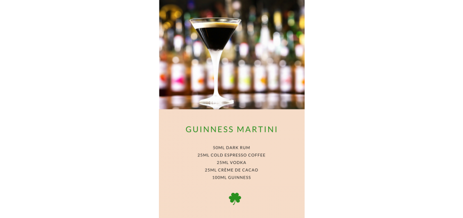 St. Patricks Day Tipples