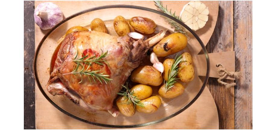 Tower Healthy Quick Dish: Rosemary Roasted Lamb
