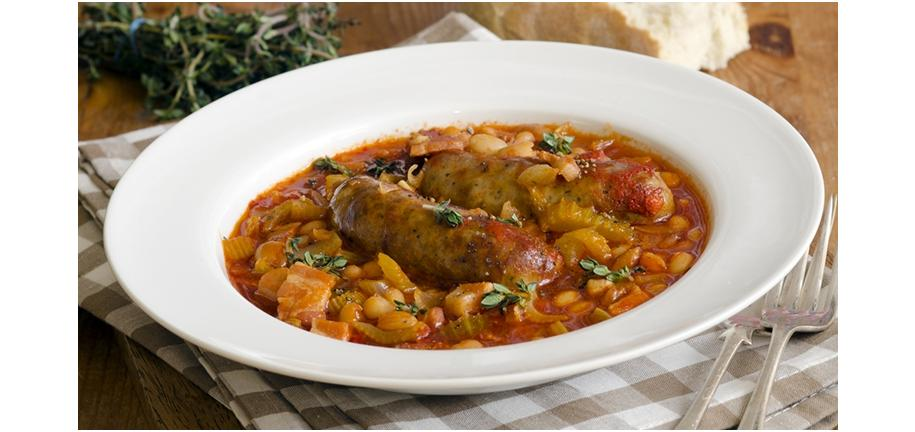 Retro Recipe Revival: Sausage and Bean Casserole