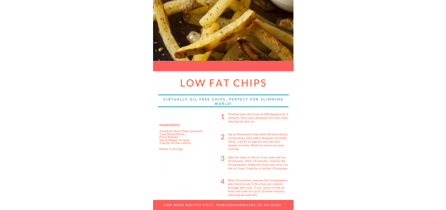 Low Fat Homemade Chips