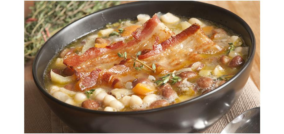 Retro Recipe Revival: Butter Bean, Cabbage and Bacon Soup