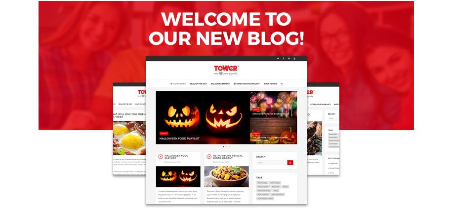 Welcome To The New & Improved Tower Housewares Blog!
