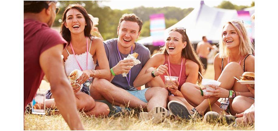 How To Eat Well at Music Festivals