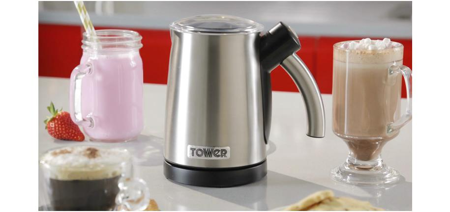 Dear Dairy: Getting to Grips with the Tower Dual Function Hot & Cold Milk Frother