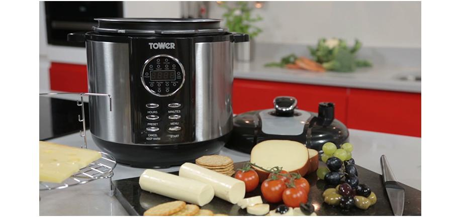 Hands-On with the Tower 6 Litre Digital Pressure Smoker & Multi-Cooker