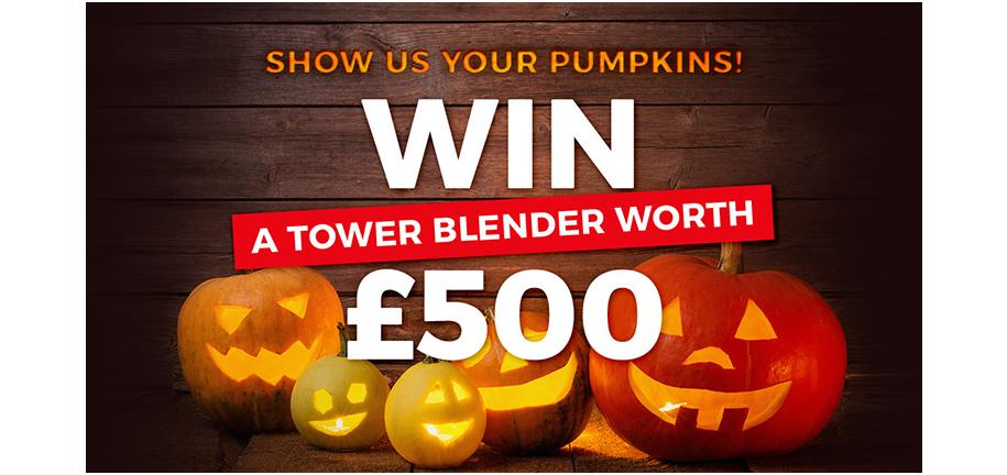 Enter The Tower Pumpkin Carving Competition and Win a Blender Worth £500!