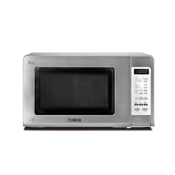 Touch Control Microwave 800W 20 Litre Stainless Steel