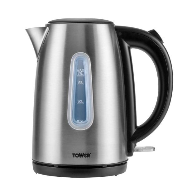 Infinity 3KW 1.7L Brushed Stainless Steel Jug Kettle