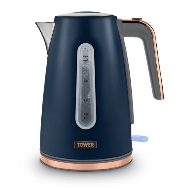 Cavaletto 1.7L Jug Kettle With Rose Gold Accents