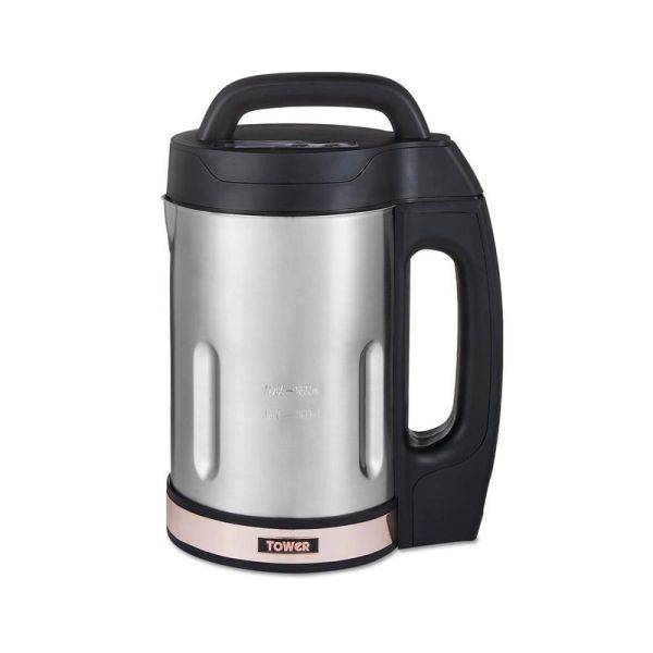 1000W 1.6 Litre Soup Maker With Rose Gold Accents