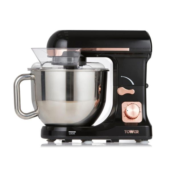 Rose Gold 1000W Stand Mixer With 5 Litre Stainless Steel Bowl