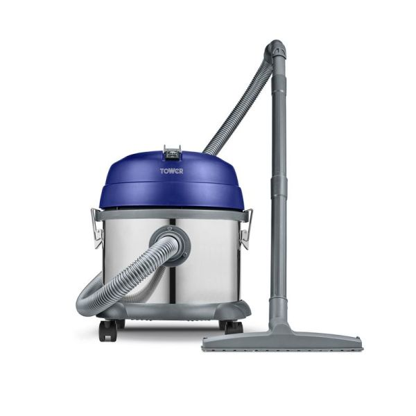 Tdw10 15L Stainless Steel Wet And Dry Vacuum In Washington Blue