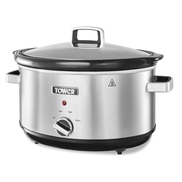 Infinity 3.5L Stainless Steel Slow Cooker