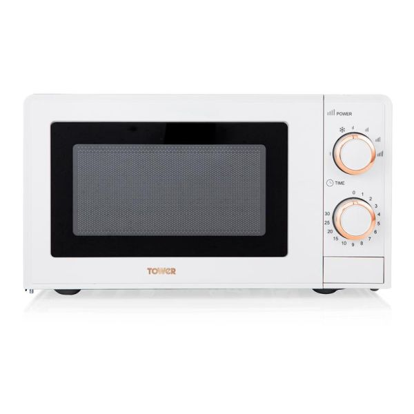 Rose Gold 700W 17 Litre Manual Microwave