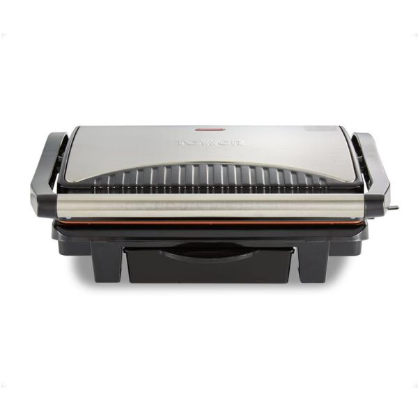 Health 1000W Grill and Griddle Cerasure Copper