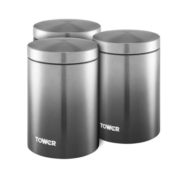 Infinity Ombre Set Of 3 Canisters
