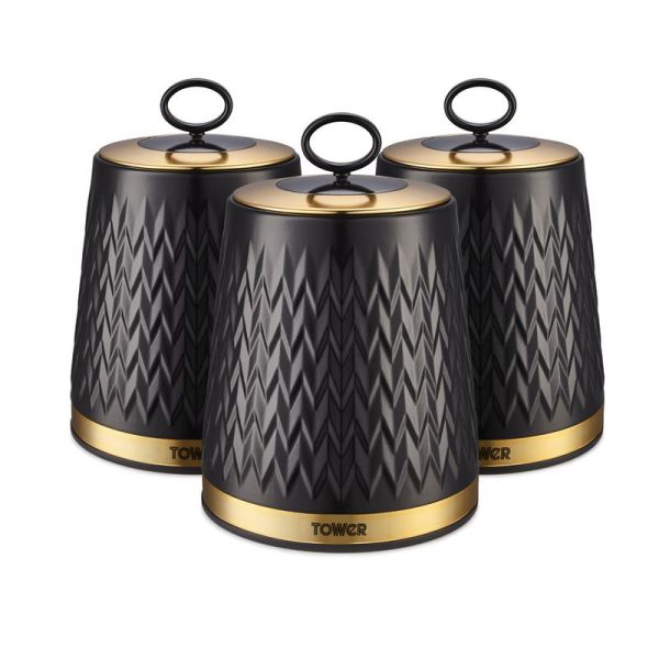 Empire Set Of 3 Canisters