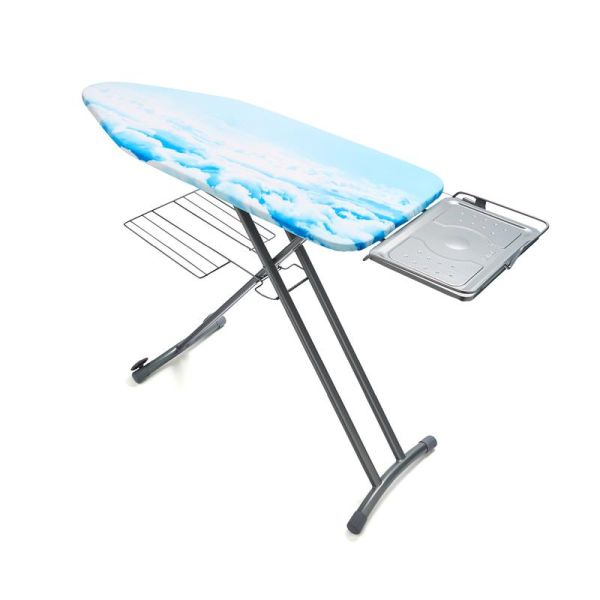 Large Mesh Ironing Board Silver with Cloud Cover